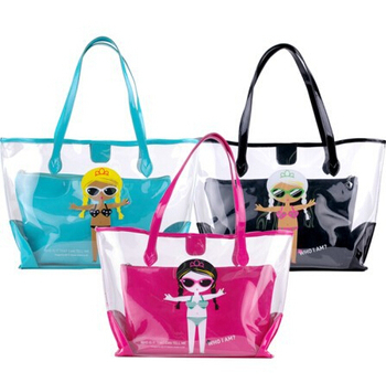 Latest Design Transparent Bag,Clear Pvc Bag,Pvc Beach Bag At Top ...