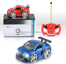 small Metal Car Q Version R/C mini q car with light and music