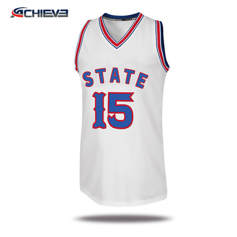 Robustes, atmungsaktives Basketball-Trikot, einheitliches Design