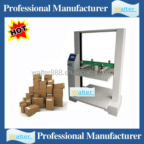 Corrugated Box carton compression strength tester price