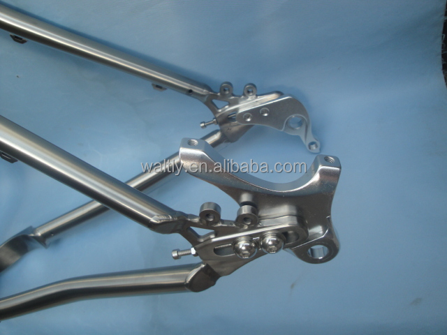 Cost effective Gr9 3AL 2.5V titanium alloy MTB bike frame