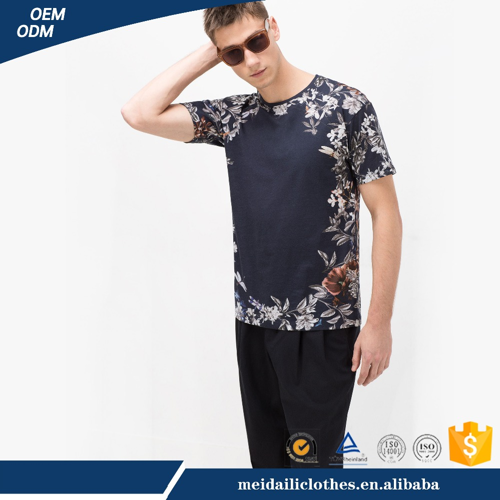 2017 High Quality OEM Garment Fashion Cheap Price 180g 100%cotton Casual Style Short Sleeve O-Neck Men's T-Shirt Printing