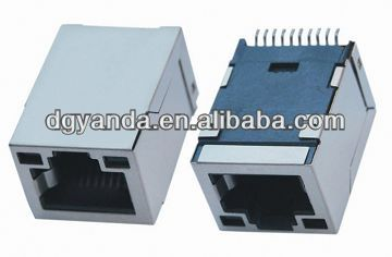 RJ45 10p right angle smt connector