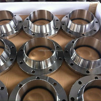 Duplex stainless steel ASTM A182 F51 F53 150LBS API ANSI B16.5 RF welding neck reducing flange