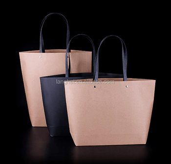 Recyclable Wholesale Factory Cheap Price Paper Bags Kraft Women Kraft  Shopping Bags New Arrival Top 576448aaee