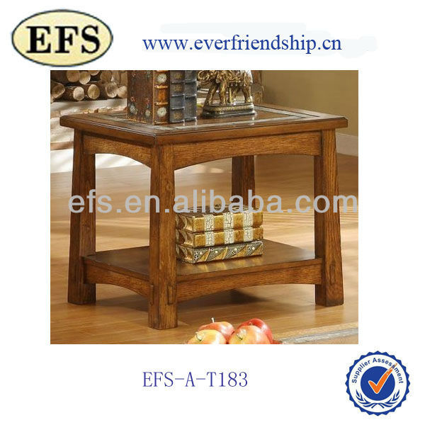 Craftsman Home side table in Americana Oak Finish (EFS-A-T183)