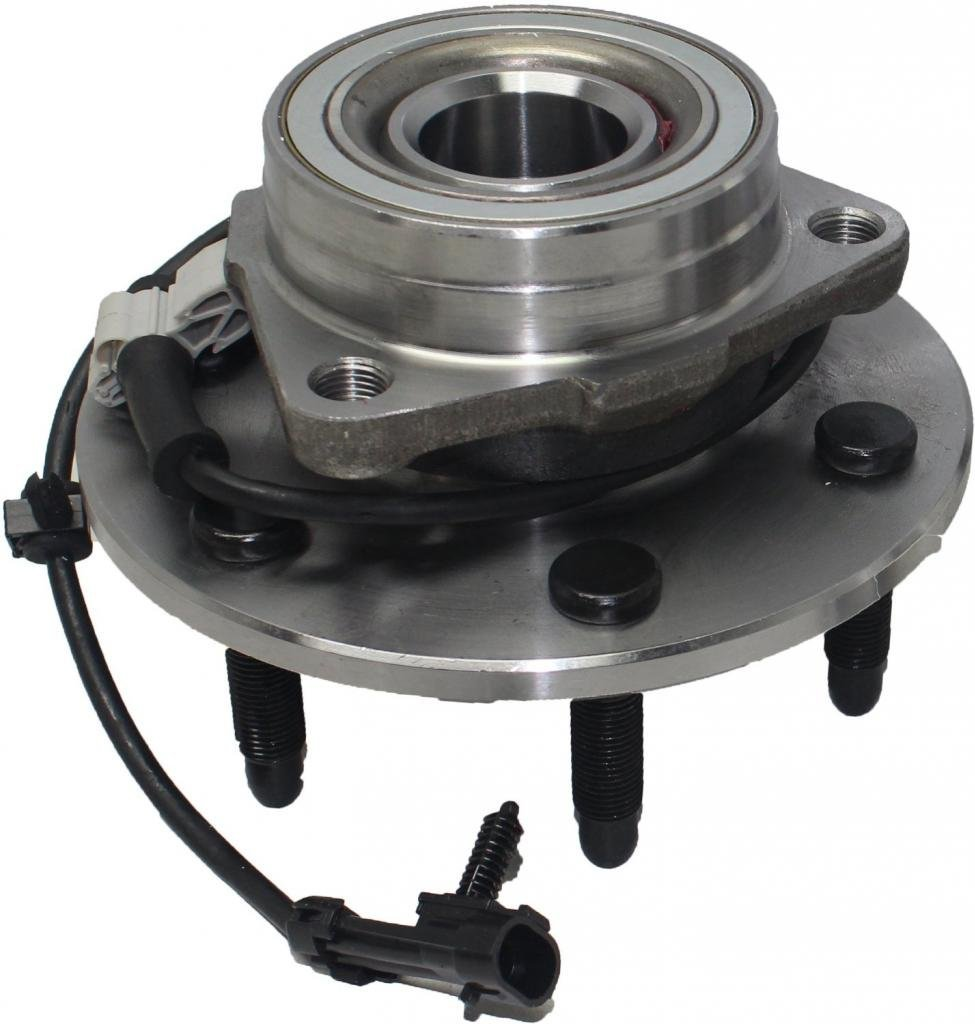Brand New Front Ford Super Duty F-350 , F-250, Excursion ABS 4WD Wheel Hub and Bearing Assembly 8 lugs