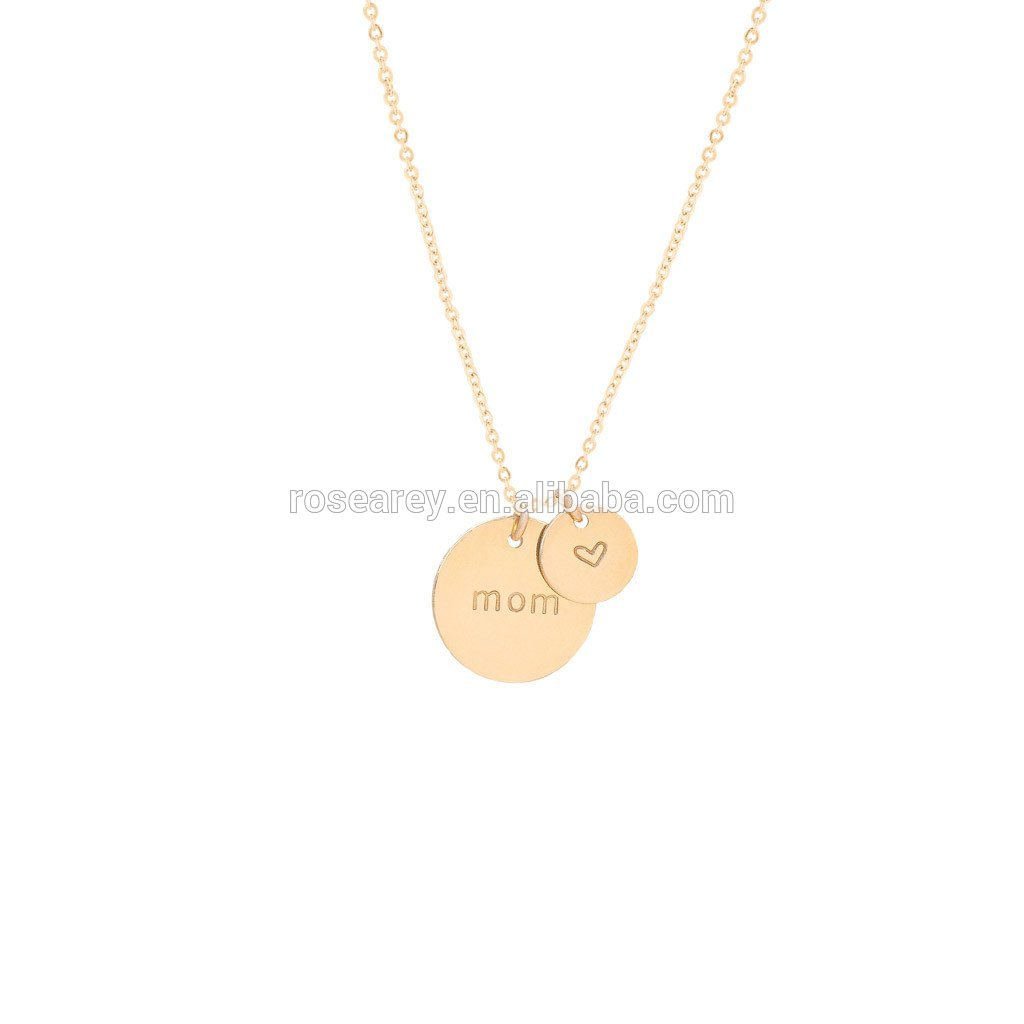 Stainless steel Jewelry Women Name Initial Choker Alphabet Letter Choker Love Necklace Gold Plated
