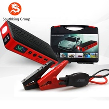 China multifunctionele 12 v 9600 mah auto emergency draagbare auto jump starter
