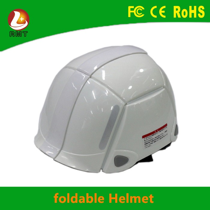 High quality supply earthquake helmet foldable safety helmet for sale