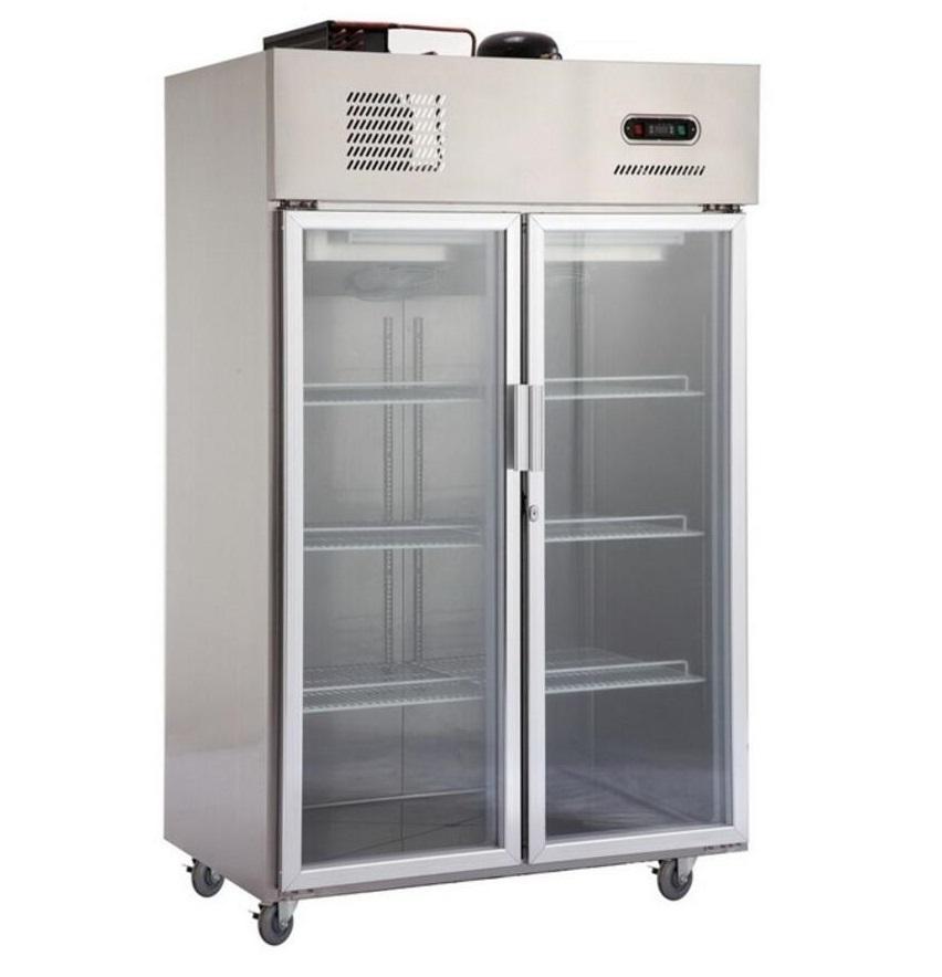 Restaurant Edelstahl Kühlschrank Tiefkühltruhe/Display Gefrierschrank/Kühlschrank und Gefrierschrank