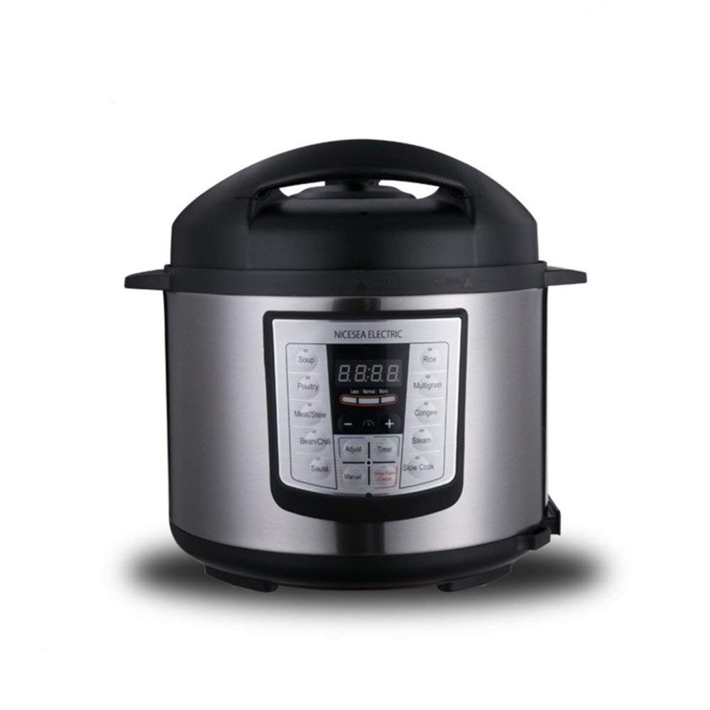 10 In 1 Multi-function Automatic Electric Pressure Cooker with Stainless Steel Inner Pot 5L Electric Rice Cooker For 5-6 People