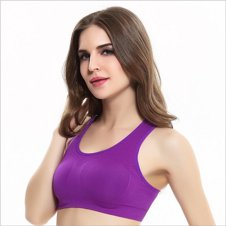 Shockproof-High-Impact-Pink-Sports-Bra-Women