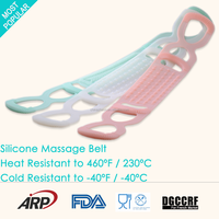 New Material Body Care Flexible Eco friendly Silicone Back Massage Belt
