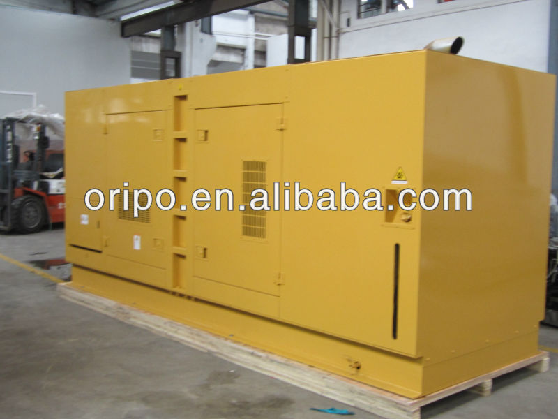 power generator 500kva diesel oil fuel less generator with super silent canopy