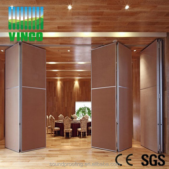 MDF Office Partition And Room Divider Soundproofing Floor To Ceiling  Partition Wall