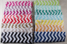 hot sell different colors latest ladies chevron infinity scarf