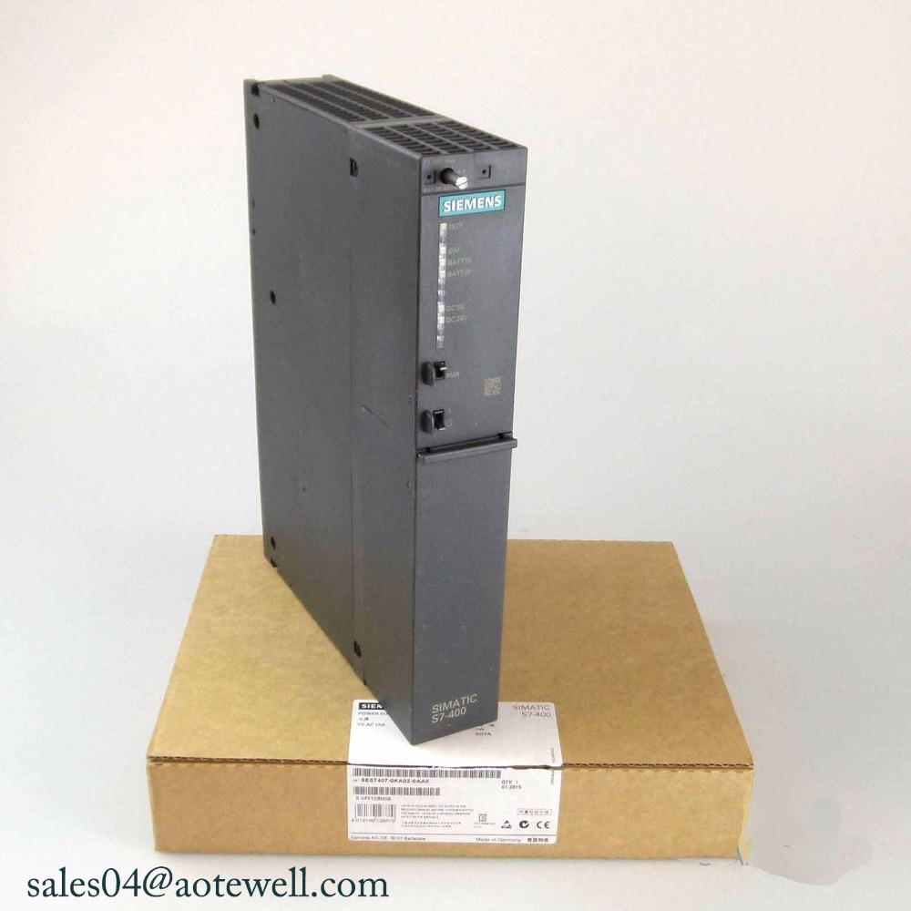 suministro eléctrico ps407 ► siemens 6es7 407-0ka01-0aa0; SIMATIC s7-400