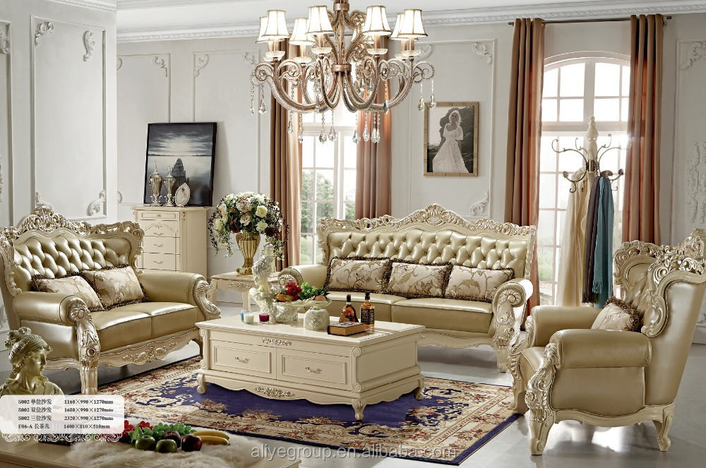 Zs01- French Provincial Living Room Furniture - Buy French ...