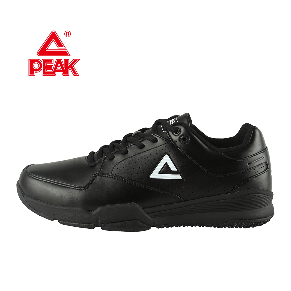 All Black Basketball Referee Shoes