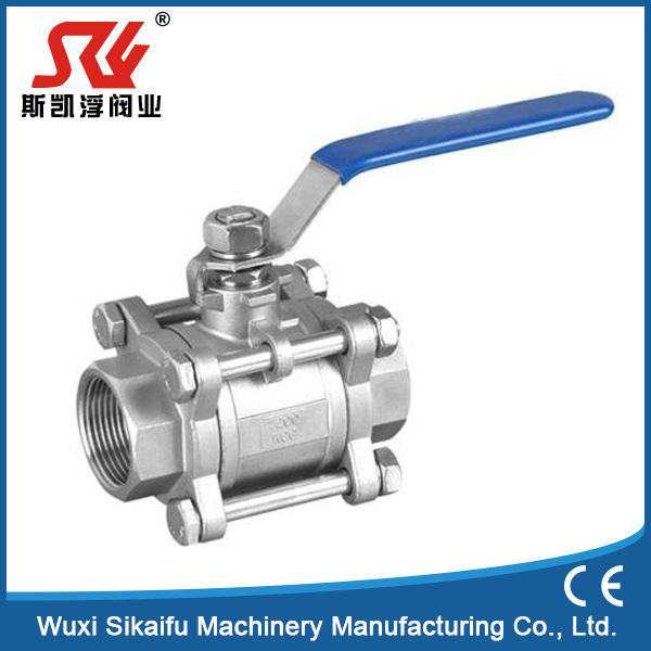 Brand new type 3 pcs ball valve with low price