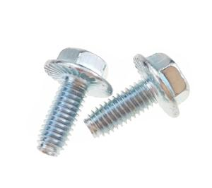 Trilobular Thread Rolling Screws for Plastic Standard Hex Washer Head