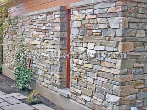 Stone Foam Panels : Oude stenen wandpaneel stapel leisteen product id