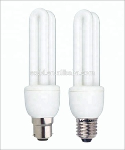 Mini light E27 2U energy saver lamp T3 3w to 11w with CE and RoHs made in china