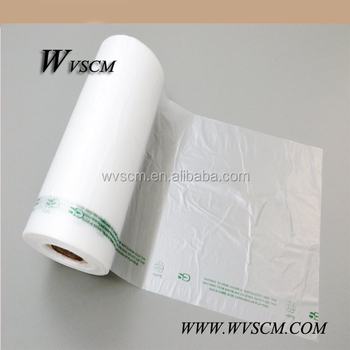 Clear Hdpe Plastic Vegetable Bags On Roll 10x15 11 Mic 0 44 Mil