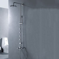 Luxury wall mounted faucet shower,shower bathroom BS-S81011