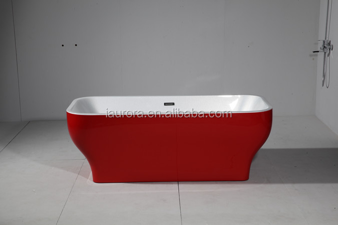 Acrylic bathtub and square freestanding bathtubs india for Best acrylic bathtub to buy