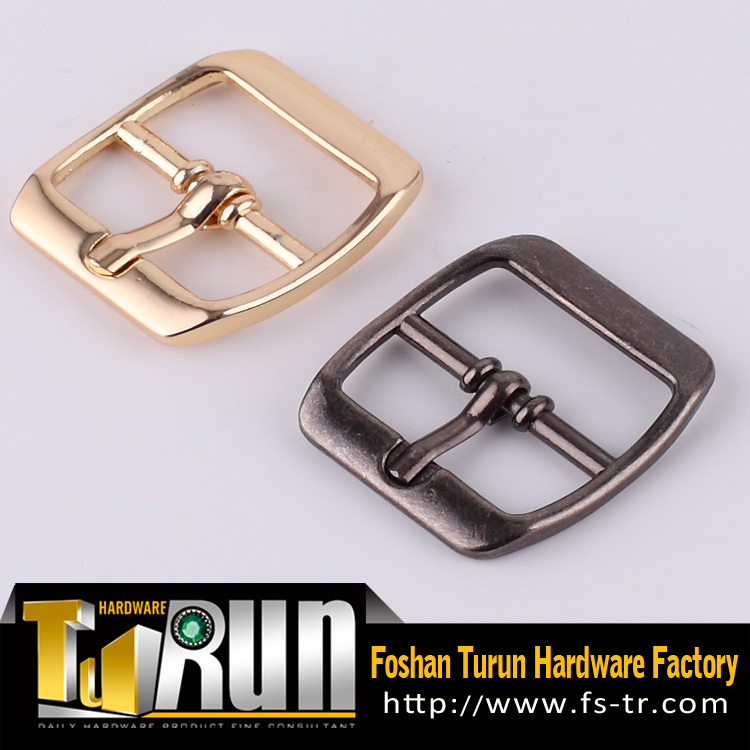 2015 hot-sell metal shoe accessory small pin buckle for shoes