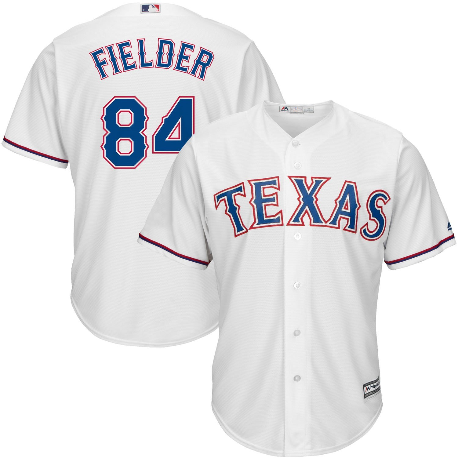 b190a5e04 Get Quotations · Outerstuff Prince Fielder Texas Rangers White Youth Cool  Base Home Replica Jersey