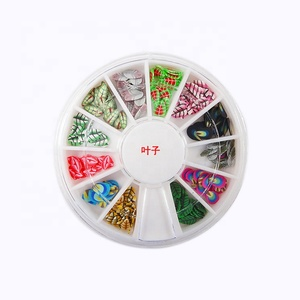 120Pcs 3D FIMO Slice FRUIT Face Nail Art Decoration