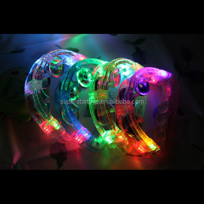 3170714-57 LED lampeggiante agitare campane anello, LED di plastica anelli per party favors