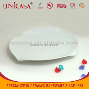 UNICASA STOCK leaf shaped dinner dishes and plates