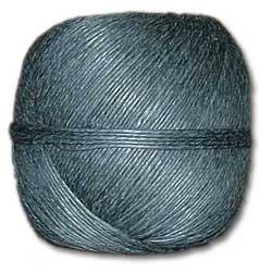 Black Hemp Twine 20 lb. (±1mm) Polished 100g Ball