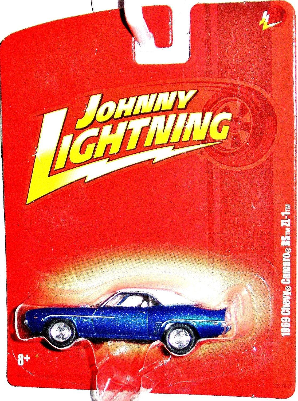 Johnny Lightning 1969 Chevy Camaro RS ZL1 Blue/White