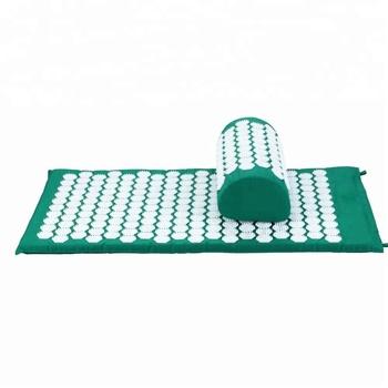 2017 New Thermal Massage Mat Ceragem And Neck Pillow Set Acupressure Mat  Cellulite - Buy Tibetan Acupressure Mat,Acupressure Massage Mat,Acupressure