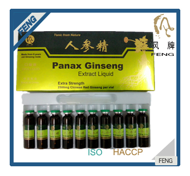 Red panax ginseng extract oral liquid