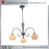Contemporary wholesale glass shade pendant light alibaba China supplier supplies