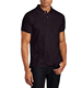 blank black & white Custom slim fit polo short sleeve polo shirt