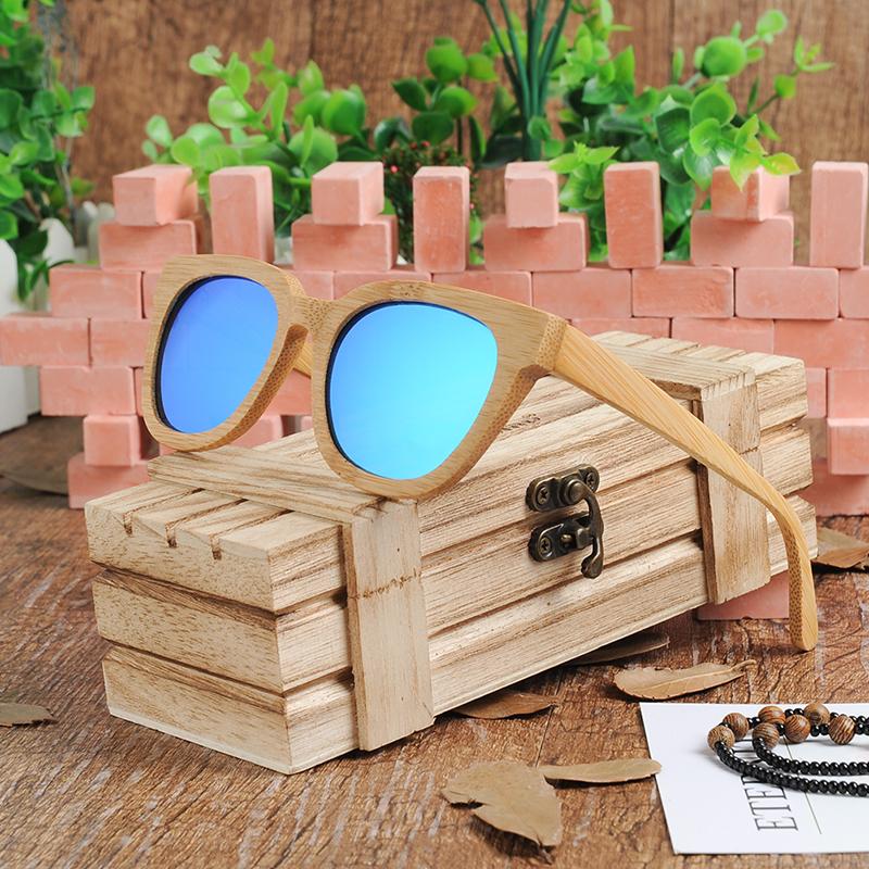45c21d33c5 BOBO pájaro curren, gafas de sol de madera 2017 gafas masculino 100% de  bambú