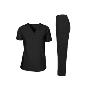 V-Neck Hospital Nurse Wholesale Medical Uniforms