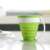 coffe reusable travel cups fda collapsable mug drinking retractable silicone coffee foldable cup