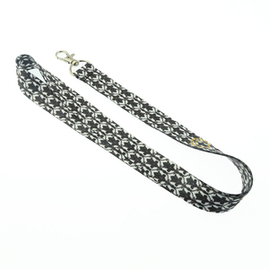 wholesale cheap stuff custom animal print lanyard with metal hook
