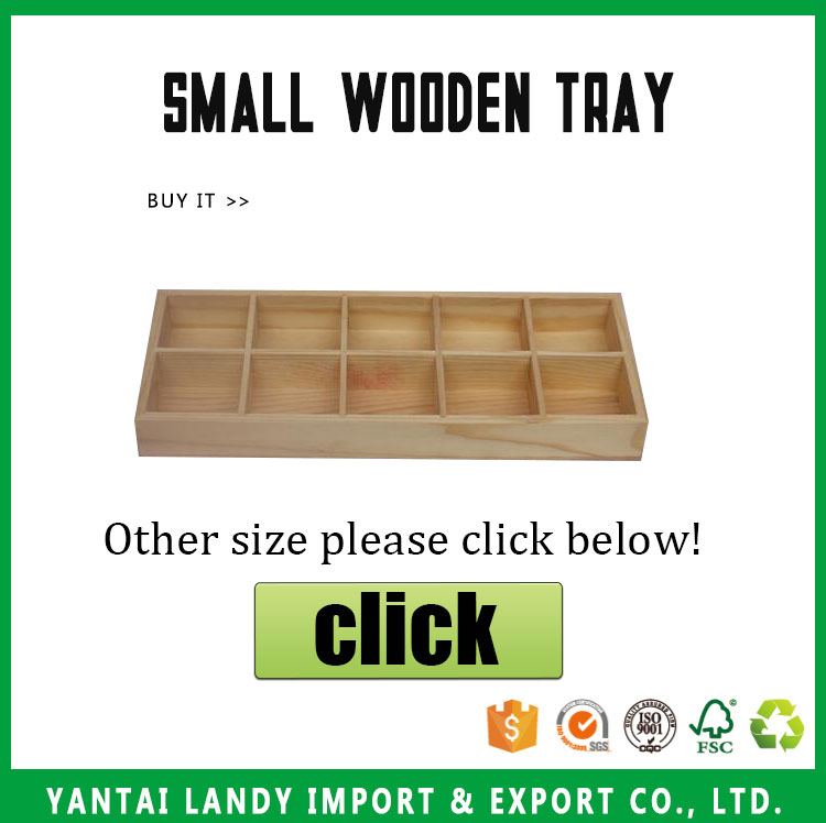 customized Wooden small trays