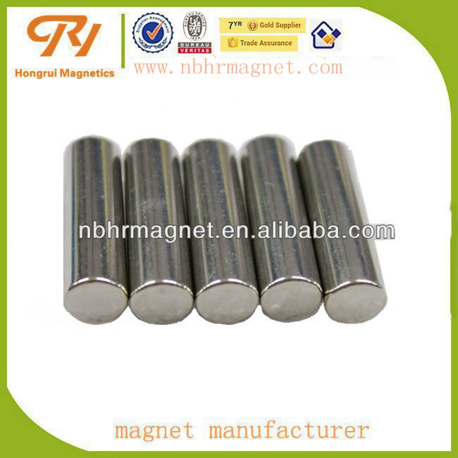 2016 Permanent NdFeB rod magnet for sale in china