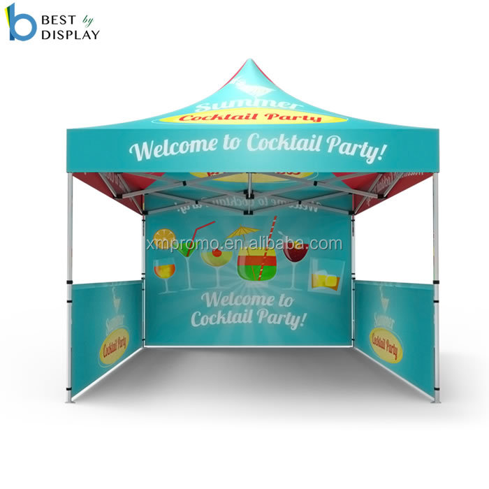 Custom advertising <strong>trade</strong> show mobile pop-up canopy tent with bag