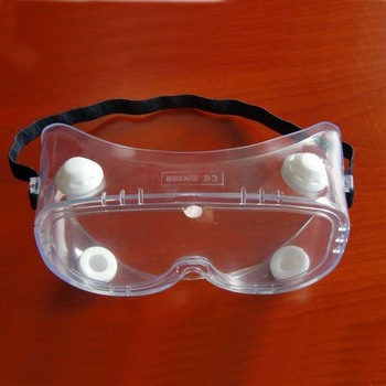 dustproof safety goggles CE EN 166 with interchangeable lens